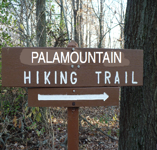 So crazy there's a real Palamountain Hiking Trail who knew?