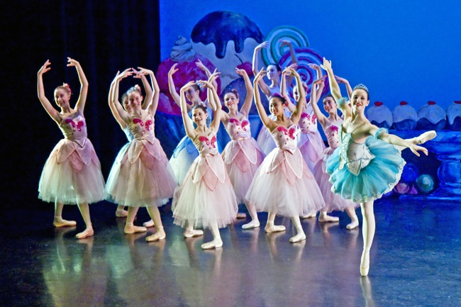 SCB Dancers Perform Waltz of the Flowers